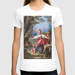 Jean-Honore Fragonard - Blind-Man's Buff T-shirt