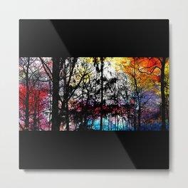 Alley Colors Metal Print