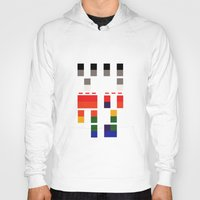 coldplay Hoodies featuring I Will Try To Fix You by Adel