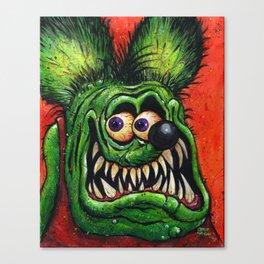 Rat Fink! Canvas Print