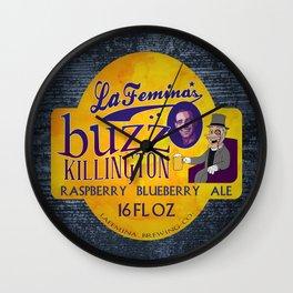 Buzz Killington Wall Clock