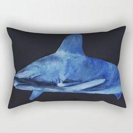Lurking in the deep Rectangular Pillow