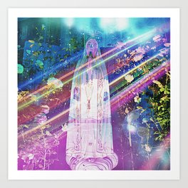 Cosmic Erosion Art Print