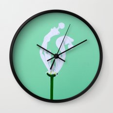 He Loves Me, He Loves Me Not Wall Clock