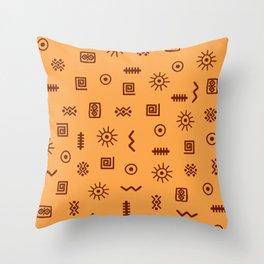 African 2 Throw Pillow
