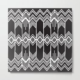 Aztec Pattern No. 16 Metal Print