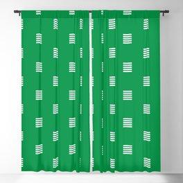 Dash / horizontal line dotted pattern Blackout Curtain