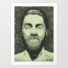 Chet Faker Art Print