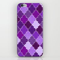 morocco iPhone & iPod Skins featuring Morocco Orchid by Jacqueline Maldonado