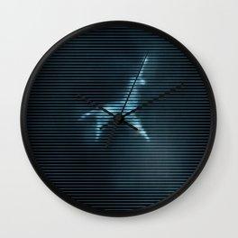 Blade runner neón Wall Clock