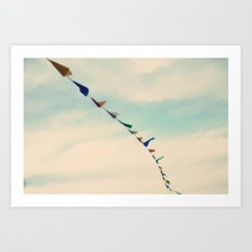 windy days Art Print