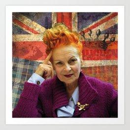 Vivienne Westwood London England Climate Art Print