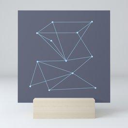 Pyramid Constellation Mini Art Print