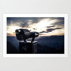 Desert View, Grand Canyon Art Print