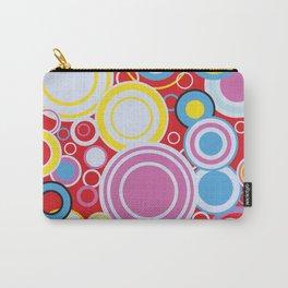Pop Art Colour Circles Carry-All Pouch