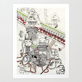 Homeskillets Art Print