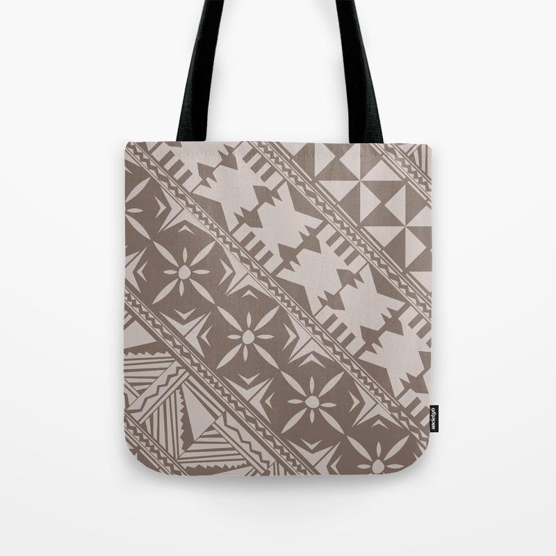0d569118223 Fijian Masi design Tote Bag