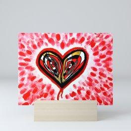The Heart Sees All Mini Art Print