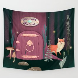 Sorcerer Of Woodland Charms Potions Spells And Fortunes Wall Tapestry