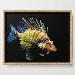 Red Lionfish Serving Tray