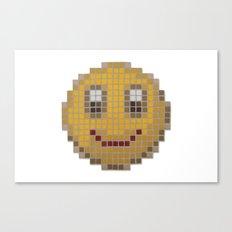 Emoticon Smile Canvas Print