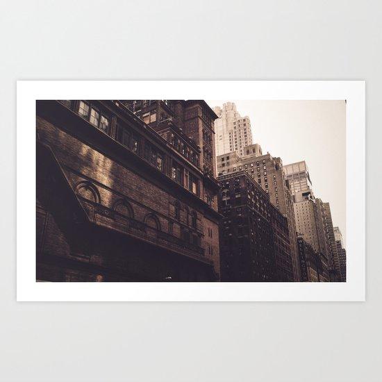 Twelve Shades of Manhattan Art Print