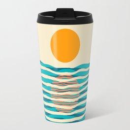 Ocean current Travel Mug