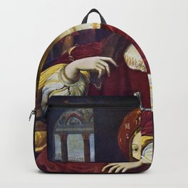 Joanna of Aragon by Raphael Backpack