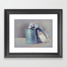 Jimmy and Snoozy Framed Art Print