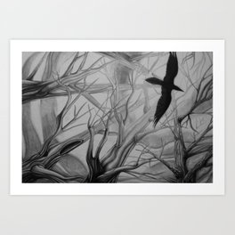 Corvid Art Print