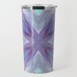 Watercolor Abstract Travel Mug