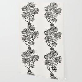 Bonsai Fruit Tree – Black Palette Wallpaper