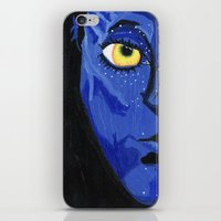 avatar iPhone & iPod Skins featuring Avatar by Paxelart