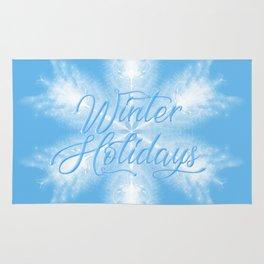Winter Holiday #3 Rug