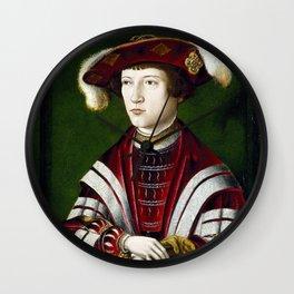 Portrait of a Nobleman Wall Clock