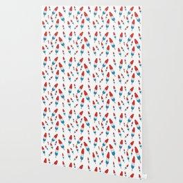 Bomb Pops Ice Cream Pattern Wallpaper