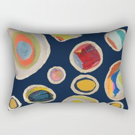 les cailloux Rectangular Pillow