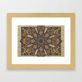 Mandala - The Night Bazaar Framed Art Print