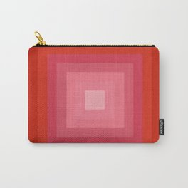 Buggin' Out - retro 70s throwback minimal art 1970s style abstract colorful Carry-All Pouch