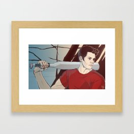 stiles Framed Art Print