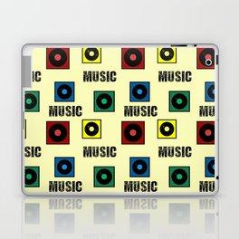 Music design Laptop & iPad Skin