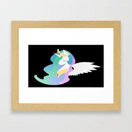 Celestia Bust Framed Art Print