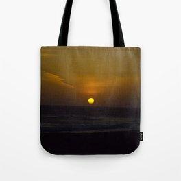 Sunset across the Ocean Tote Bag