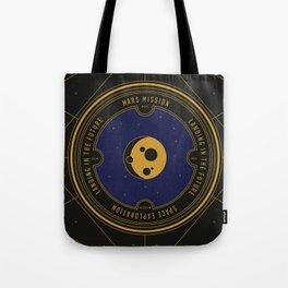 Mars Mission Tote Bag