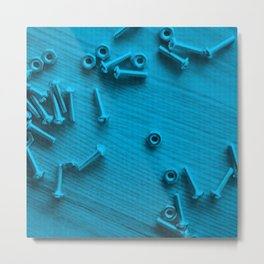 Nuts & Bolts Metal Print
