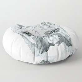 The Boxer Dog Miley Floor Pillow