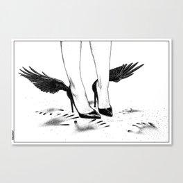asc 870 - Le plafond de verre (Hands and wings) Canvas Print