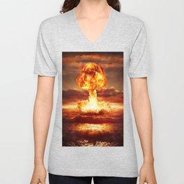 Atomic Bomb Unisex V-Neck