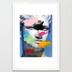 Composition 496 Framed Art Print