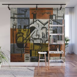 Joaquin Torres Garcia Constructive Painting V Wall Mural